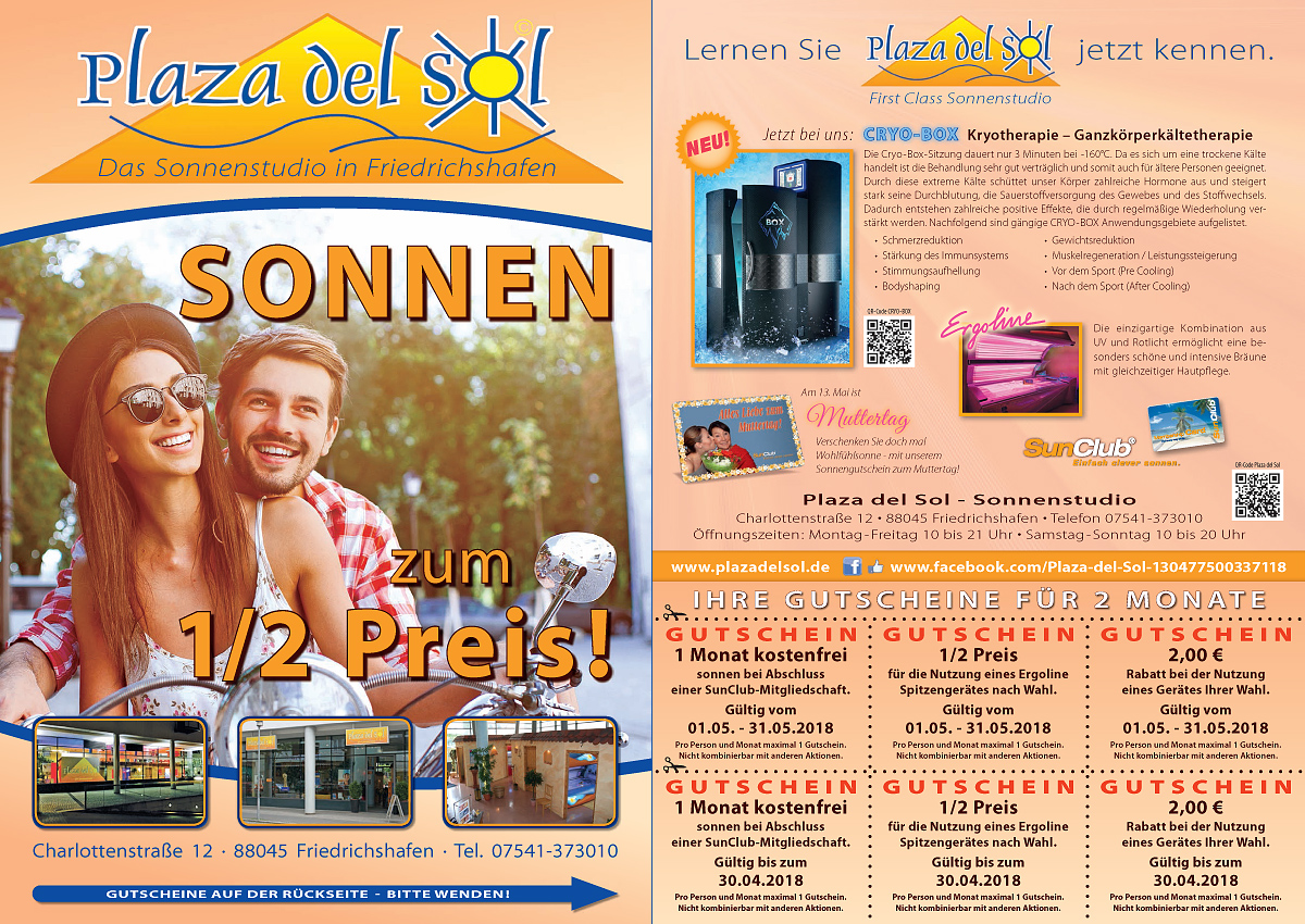 Plaza del Sol Website